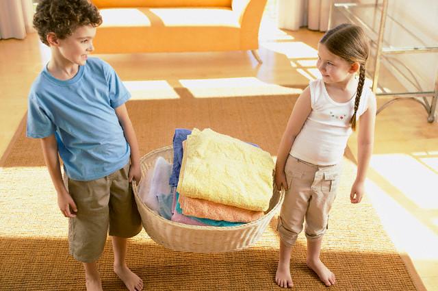 Responsabilidades de los niños en el hogar:¿cómo incluir a los niños?